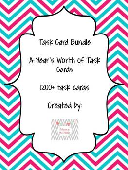Task Card Bundle! Grade 6