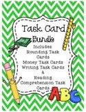Task Card Bundle -- Math and Literacy