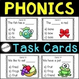 A Phonics Task Card Bundle