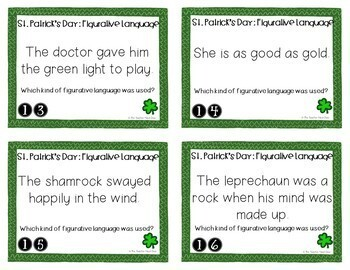 Task Card Bundle for St. Patrick's Day | St. Patrick's Day Activity