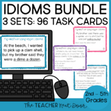 Task Card Bundle: Figurative Language - Idioms | Idioms Center