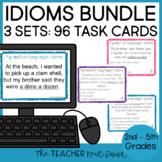 Task Card Bundle: Figurative Language - Idioms | Idioms Center