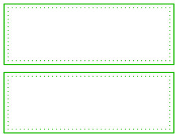 Task Card Templates Clip Art SET 24