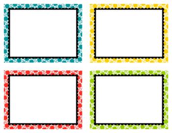 Task Card Clip Art Templates SET 27