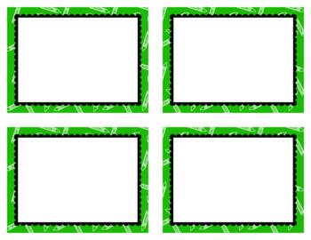 Task Card Clip Art Templates SET 28