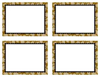 Task Card Clip Art Templates SET 29