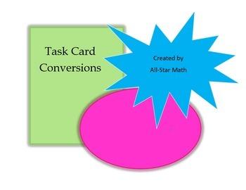 Task Card Conversions