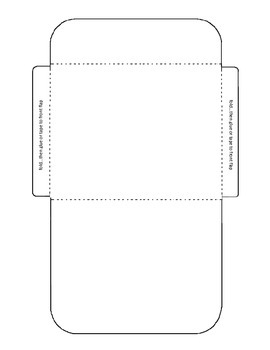 Task Card Envelope Template