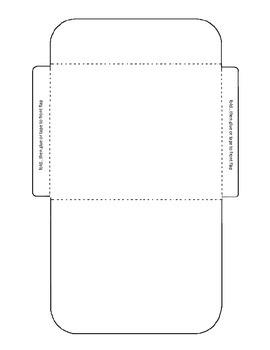 Task Card Envelope Template