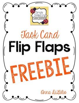 Task Card Flip Flap Freebie