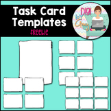 Task Card Templates - FREEBIE