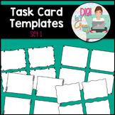 Task Card Templates Clip Art SET 1