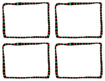 Task Card Templates Clip Art SET 3