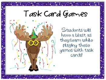 Task Card Games