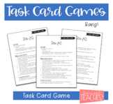 Task Card Games: Bang!!
