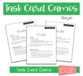 Task Card Games: Ninja!