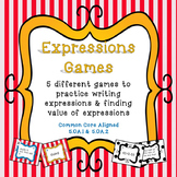 Expressions: Writing and Evaluating
