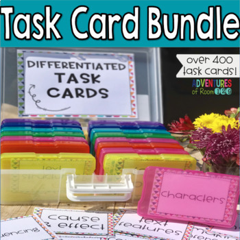 Reading Task Card Bundle Differentiated