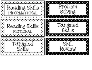 Task Card Labels - editable and non-editable files