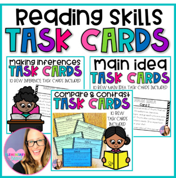 Reading Skills-Task Card Mini Bundle