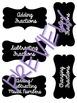 Task Card Organization Labels