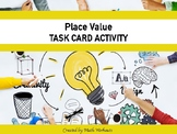 Place Value Task Card with EL Accomodations