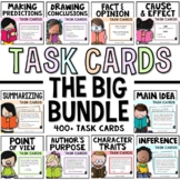 Task Card Reading Strategies and More Bundle - Over 400 Cards!