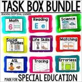 Task Box Activities BUNDLE