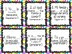 Task Card Set - Present Tense of Stem-Changing Verbs (e-ie, e-i, and o-ue)