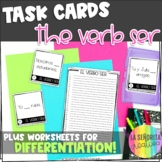 Present Tense of the Verb Ser Task Card Activity