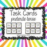 Preterite Tense Spanish Task Card Activity