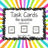 Adjective Opposites Spanish Task Card Activity