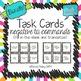 Task Card Set - Tú Commands Bundle