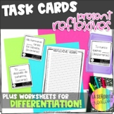 Reflexive Verbs in Spanish Task Card Activity and Worksheet
