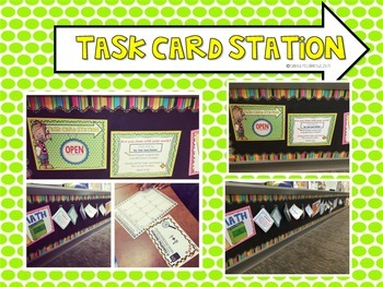 Task Card Station How To