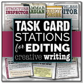 Task Card Stations for Editing Narrative Writing