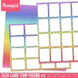 Task Card Template #1 - MORE Freebies