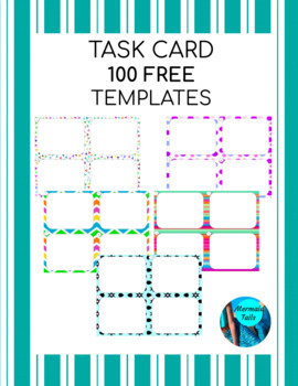 Task Card Templates - FREE
