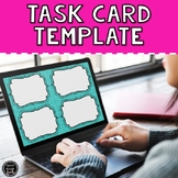 Task Card Template FREEBIE