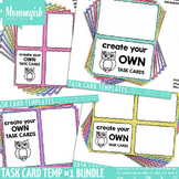 Task Card Templates #1 - Huge Bundle – Rainbow Chevrons