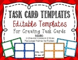 Task Card Templates EDITABLE