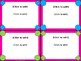 Task Card Templates - Black & Pink Brights