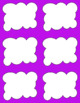 Task Card Templates Clip Art MINI SET 45