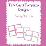 Task Card Templates Design-Pretty Pink