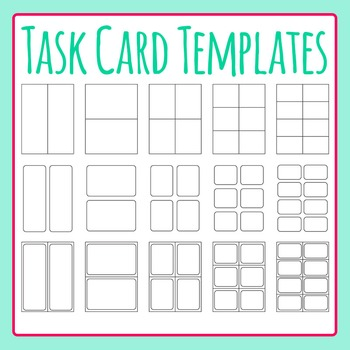 Flash Cards Template Teaching Resources  Teachers Pay Teachers