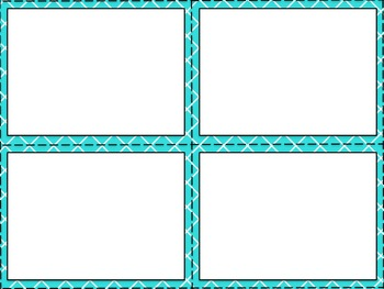 Task Card Templates - Lattice