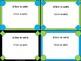 Task Card Templates - Lime & Teal