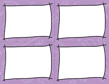 Task Card Clip Art Templates - MINI SET 2