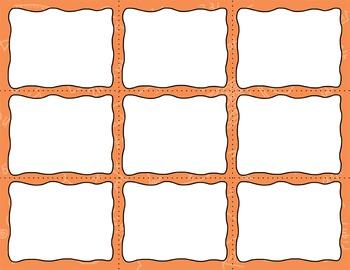 Task Card Templates Clip Art MINI SET 11
