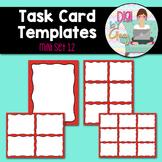 Task Card Templates Clip Art MINI SET 12